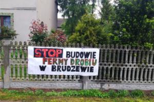 Stop budowie fermy w Brudzewie