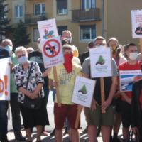 Protest w Blizanowie